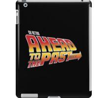 Go Retro - Ahead To The Past iPad Case/Skin