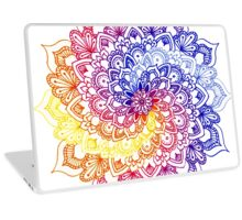 Sky Spiral Mandala Laptop Skin