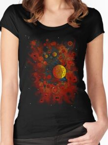Planet Nursery * Women's Fitted Scoop T-Shirt