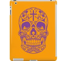 Sugar Skull Purple iPad Case/Skin