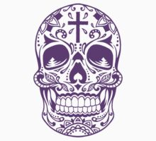 Sugar Skull Purple by HolidaySwagg