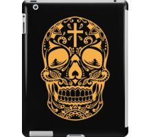 Sugar Skull Yellow iPad Case/Skin