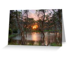 Thorn Park - Sunset, Clare, South Australia Greeting Card