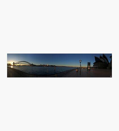Opera House & The Harbour Bridge Photographic Print