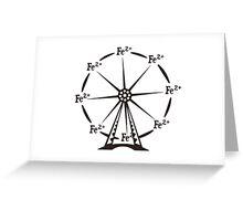 Ferrous Ferris Wheel Greeting Card