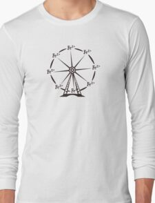 Ferrous Ferris Wheel Long Sleeve T-Shirt