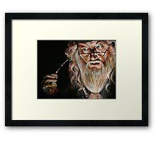 Dumbledore :: Harry Potter Inspired Fan Art Framed Print