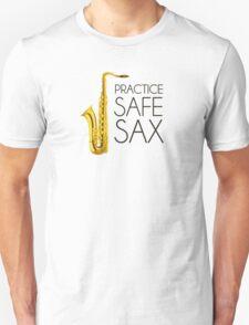 Practice Safe Sax T-Shirt