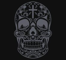 Sugar Skull Grey by HolidaySwagg