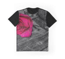 Vibrant rose  Graphic T-Shirt