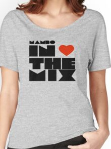 Ibiza Cafe Mambo Sunset Dj Mix Quotes Women's Relaxed Fit T-Shirt