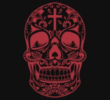 Sugar Skull Red by HolidaySwagg
