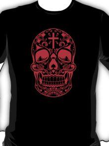 Sugar Skull Red T-Shirt
