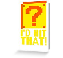 I Shoot People T-ShiI'd Hit That T-Shirt Question Mark Video Game TEE Geek Nerd Gamer Funny Humor Greeting Card