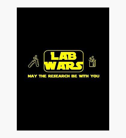 Lab Wars Photographic Print