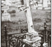 """"""" In Loving Memory """"  Graveyard Adornments #43 by Malcolm Heberle"""