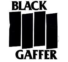 Black Gaffer Photographic Print