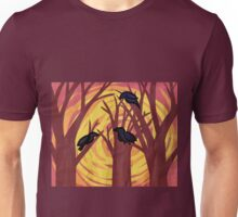 Tri Corbies Unisex T-Shirt