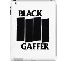Black Gaffer iPad Case/Skin