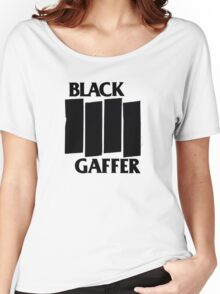 Black Gaffer Women's Relaxed Fit T-Shirt