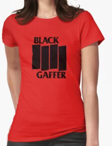Black Gaffer Womens Fitted T-Shirt