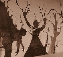 Graffiti Trees by Nathan Little