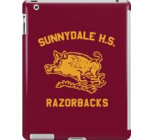Sunnydale Razorbacks (Accurate Artwork) iPad Case/Skin