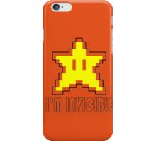 I'm Invincible T-Shirt Super Funny Mario TEE Monty Python Bro Gaming Brothers iPhone Case/Skin