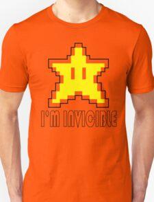 I'm Invincible T-Shirt Super Funny Mario TEE Monty Python Bro Gaming Brothers T-Shirt