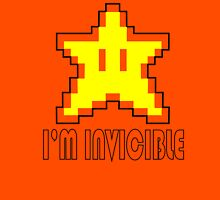 I'm Invincible T-Shirt Super Funny Mario TEE Monty Python Bro Gaming Brothers Unisex T-Shirt