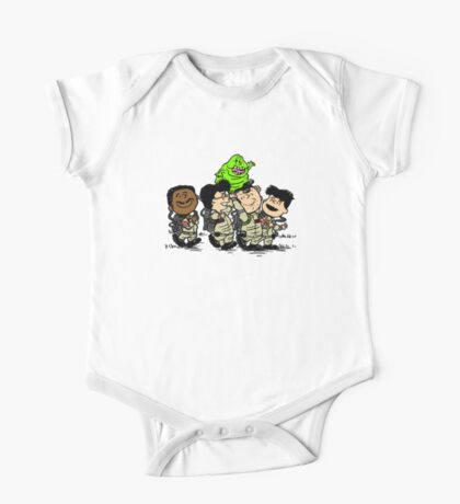 Funny Ghostbuster Team One Piece - Short Sleeve