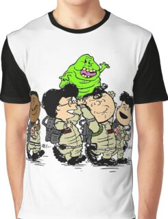 Funny Ghostbuster Team Graphic T-Shirt