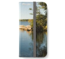 Summer view of the river.  iPhone Wallet/Case/Skin