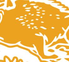 Sunnydale Razorbacks (Accurate Artwork) Sticker
