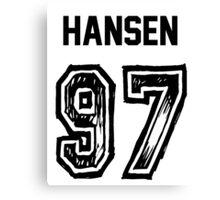 Hansen'97 Canvas Print