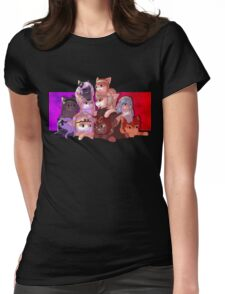 Fire Emblem Cats Womens Fitted T-Shirt