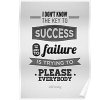 Key to Success Poster