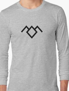Owl Cave Symbol Long Sleeve T-Shirt