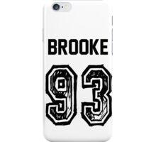 Brooke'93 iPhone Case/Skin