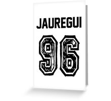 Jauregui'96 Greeting Card