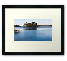 summer natural landscape.  Framed Print