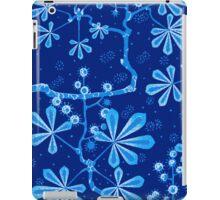 Azure Frost Flower iPad Case/Skin