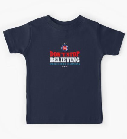 Chicago Cubs Believing Kids Tee