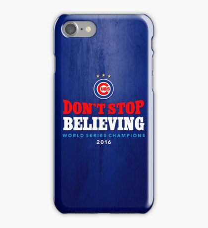 Chicago Cubs Believing iPhone Case/Skin