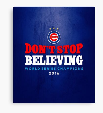 Chicago Cubs Believing Canvas Print