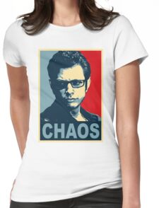 ian malcolm chaos Womens Fitted T-Shirt