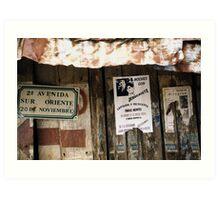 2a Avenida Mexico Art Print