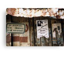 2a Avenida Mexico Canvas Print
