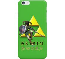 Skyrim Sword iPhone Case/Skin