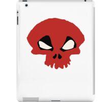 Deadpool Funny Skull iPad Case/Skin